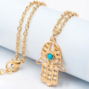 ♥️5 for $20♥️ Hollow Design Pendant Chain Necklace